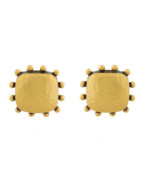 Julie Vos - SoHo Mixed Metal Gold Clip-On Earrings