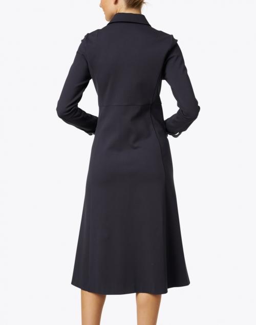 Jane - Montreal Graphite Jersey Shirt Dress