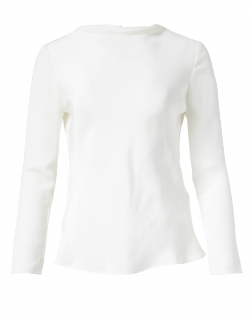 Goat - Lotus Cream Silk Blouse