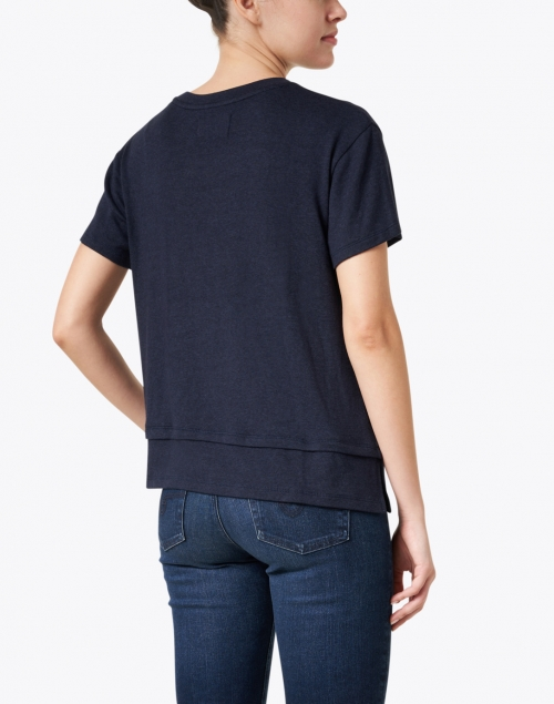 Southcott - Clifton Navy Cotton and Modal Shirt