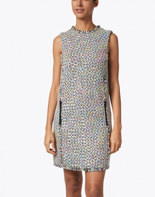 Emporio Armani - Multi Colored Tweed Dress