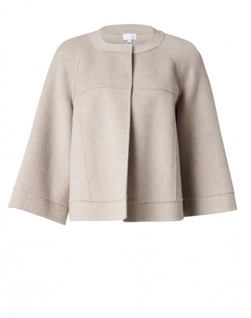 TSE Cashmere Sandstone Melange Cashmere Jacket