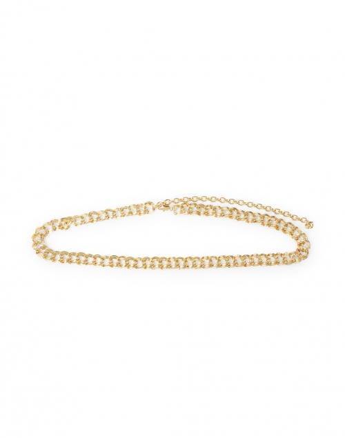 Loeffler Randall - Jolene Gold Chain Belt