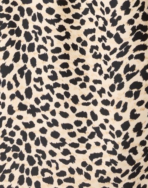 Jude Connally - Kerry Camel Cheetah Print Dress