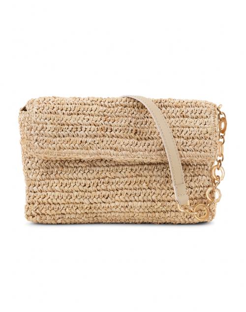 Kayu Marni Natural Woven Raffia Baguette Bag