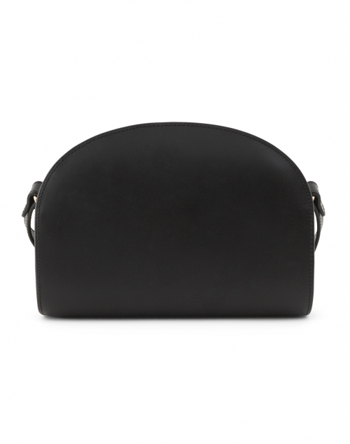 A.P.C. - Black Demi Lune Leather Crossbody Bag