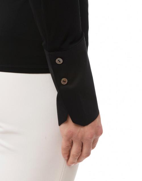 Marc Cain - Black Jersey Button Down Shirt