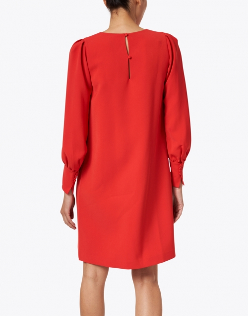 Lafayette 148 New York - Lenore Red Crepe Dress