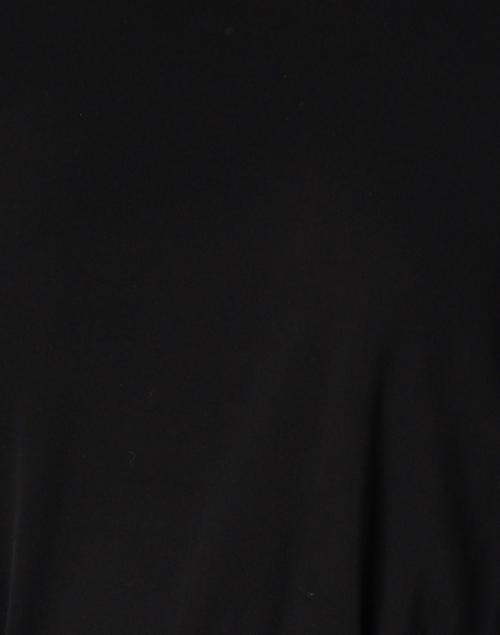 Max Mara Studio - Notizia Black Viscose Tunic Top