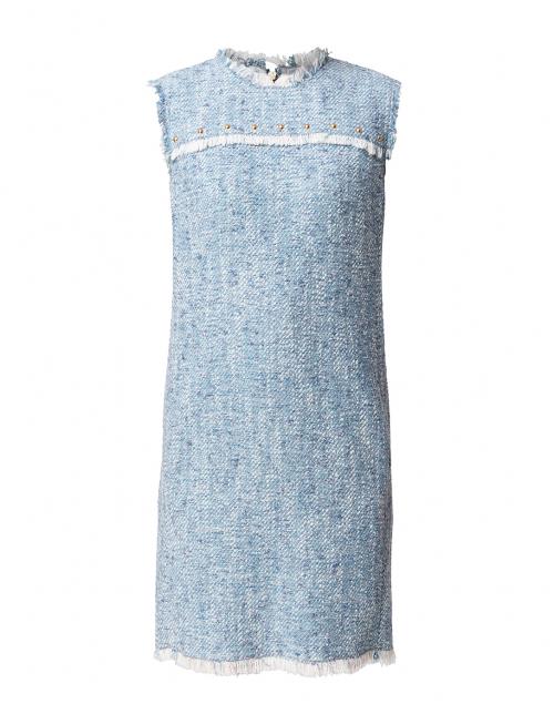 Escada Sport Damika Pale Blue Tweed Dress