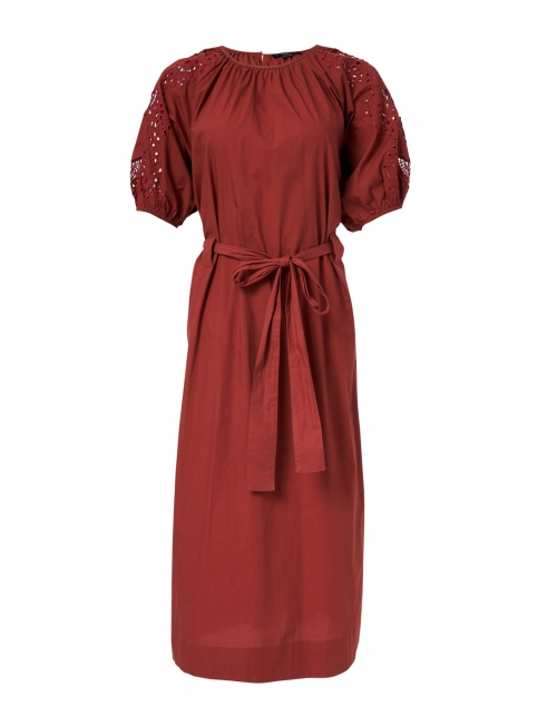 Seventy - Rust Red Cotton Poplin Dress