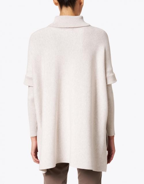 J'Envie - Oatmeal Layered Turtleneck Sweater