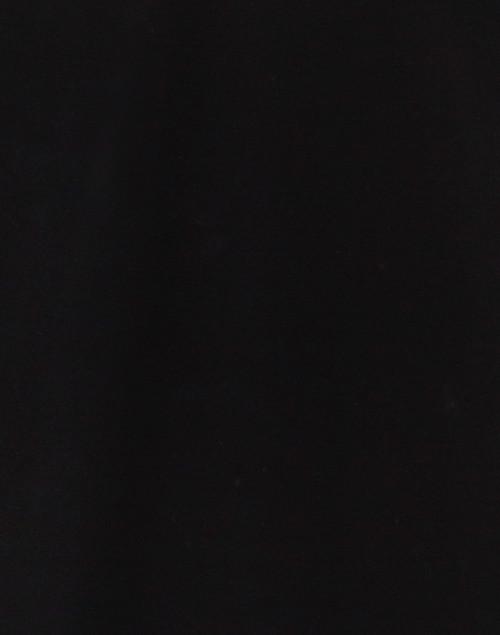 E.L.I. - Black Pima Cotton Cut Out V-Neck Top