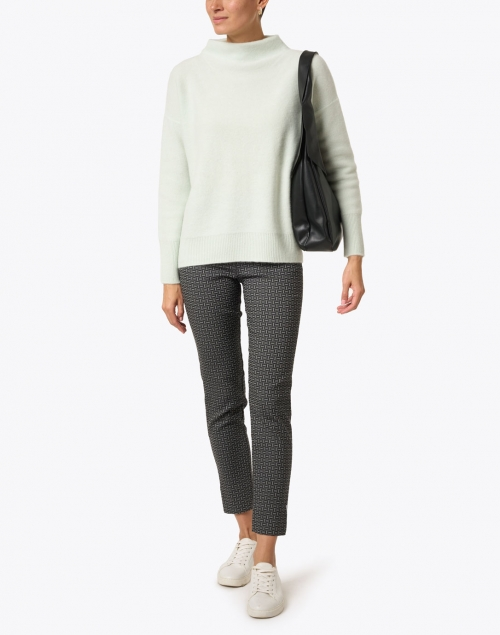 Vince - Pale Green Boiled Cashmere Sweater