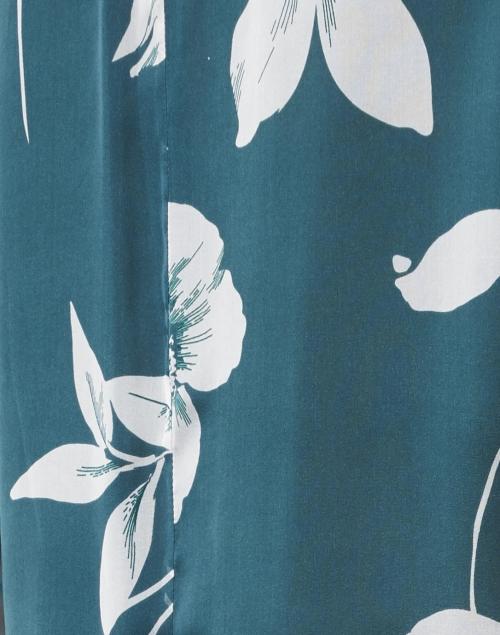 Max Mara Studio - Palco Green Floral Silk Top
