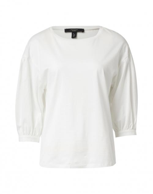Weekend Max Mara - Armonia White Cotton Top