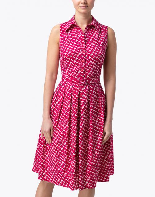 Samantha Sung - Audrey Rose Chanel Tweed Printed Stretch Cotton Dress