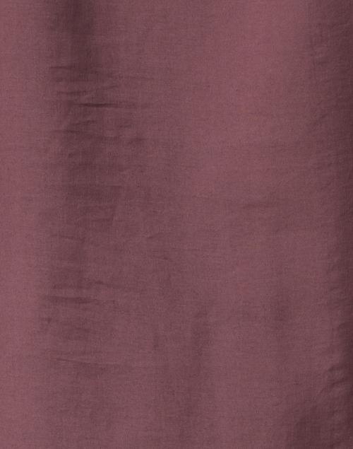 Santorelli - Kiana Mauve Wine Lyocell and Silk Top