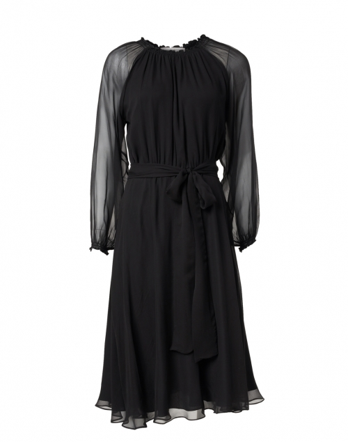 Soler - Raquel Bea Black Silk Dress