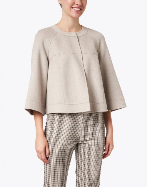 TSE Cashmere - Sandstone Melange Cashmere Jacket
