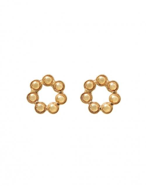Sylvia Toledano - Daisy Gold Circle Stud Earrings