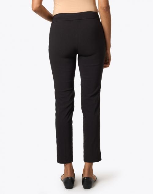 Avenue Montaigne - Pars Black Signature Stretch Pull-On Pant