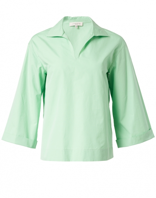 Lafayette 148 New York - Dales Mint Julep Cotton Pullover