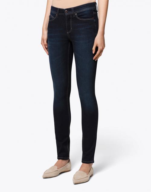 Cambio - Parla Deep Blue Wash Stretch Denim Jean