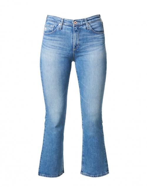 AG Jeans Jodi Light Wash Flare Crop Stretch Denim Jean