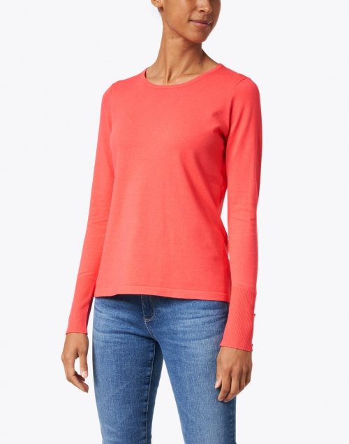 J'Envie - Coral Viscose Knit Sweater