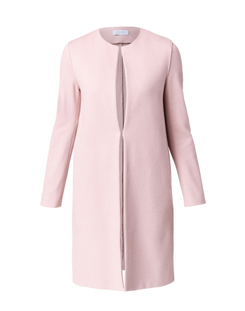 Harris Wharf London Rose Pink Canvas Coat