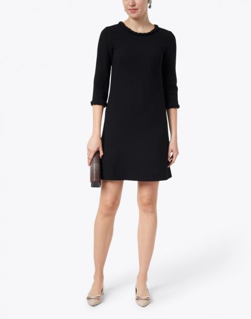 Goat - Erin Black Wool Crepe Dress