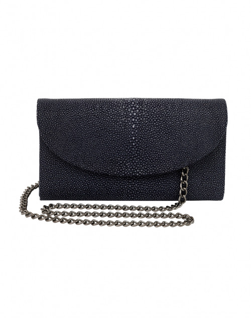 J Markell - Baby Grande Navy Stingray Clutch