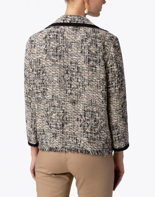 Seventy - Black and White Tweed Jacket