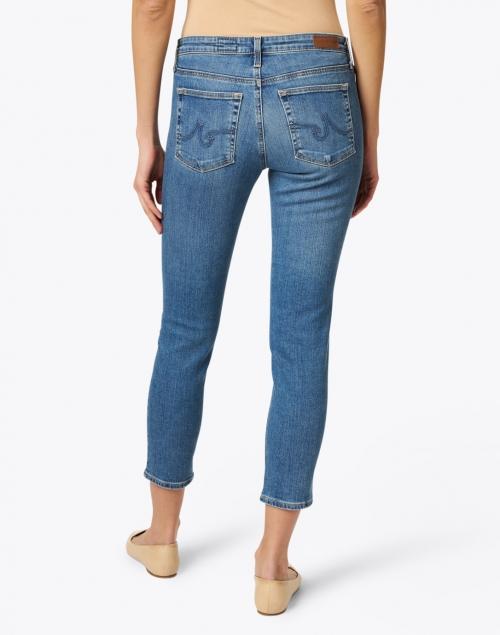 AG Jeans - Prima Crop Cielo Blue Denim Cigarette Jean