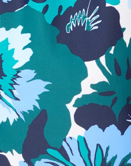 Jude Connally - Ella Blue and Jade Floral Print Dress