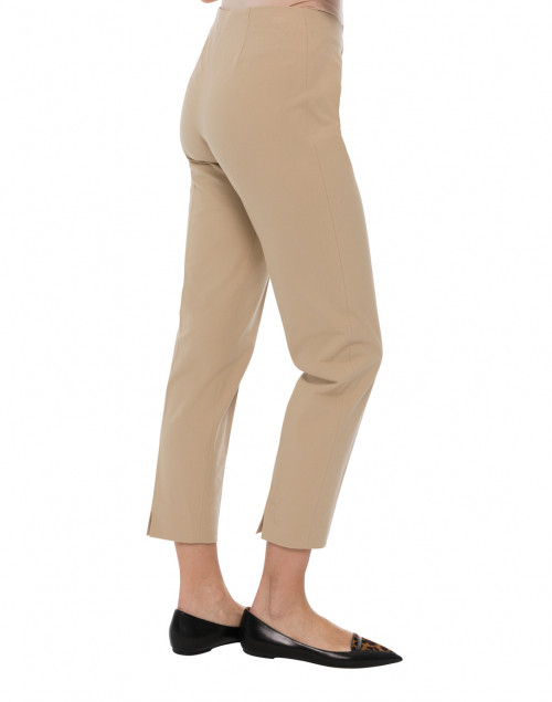 Piazza Sempione - Monia Tan Stretch Cotton Pant