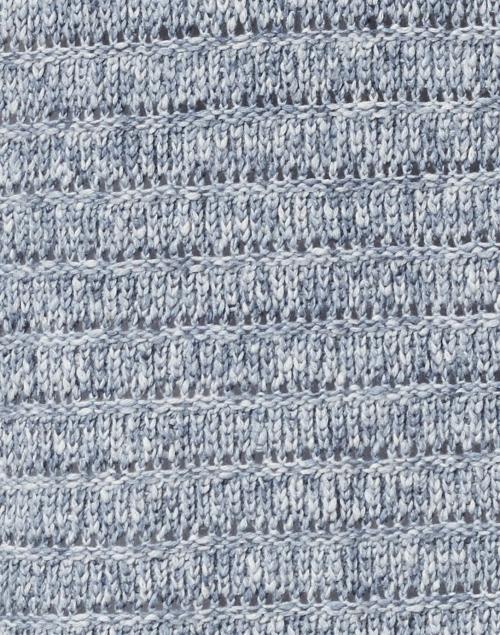 Kinross - Cove Blue Cotton Open Cardigan