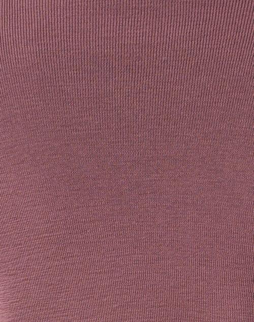 Amina Rubinacci - Dalmata Mauve Purple Wool Knit Jacket