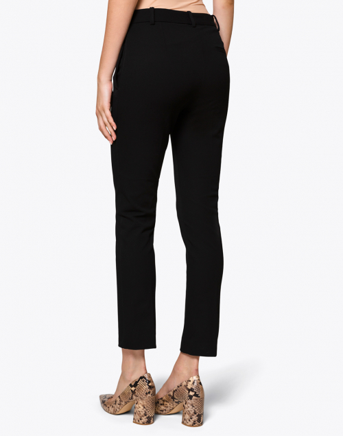 Joseph - Zoom Black Gabardine Stretch Pant