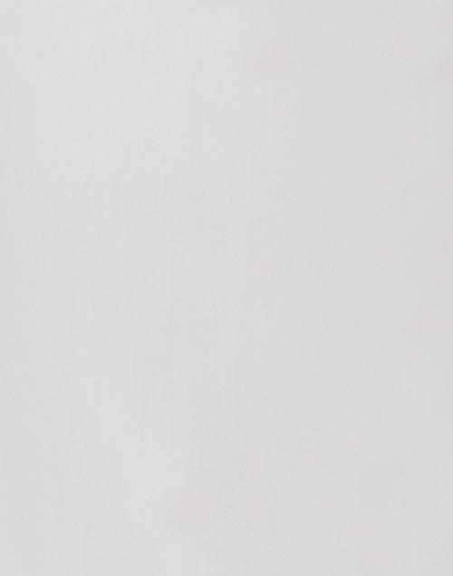 Fabrizio Gianni - White Cropped Wide Leg Techno Stretch Pant