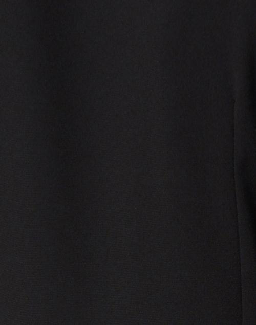 Rosso35 - Black Front Tie Dress