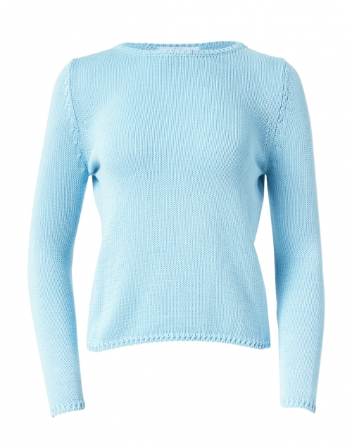 Leggiadro - Powder Blue Cotton Pullover