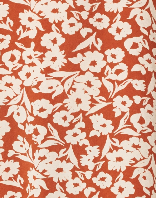 Roller Rabbit - Raine Olindo Terracotta Floral Caftan