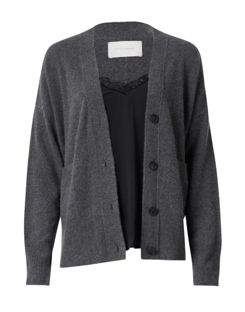 Brochu Walker - Dark Grey and Black Cardigan Lace Looker