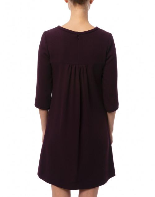 Goat - Lola Plum Wool Crepe Dress