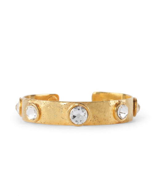 Sylvia Toledano - Happy Moon Swarovski Cuff Bracelet