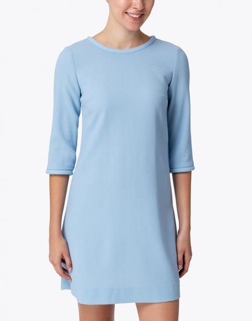 Goat - Lola Ice Blue Wool Crepe Dress