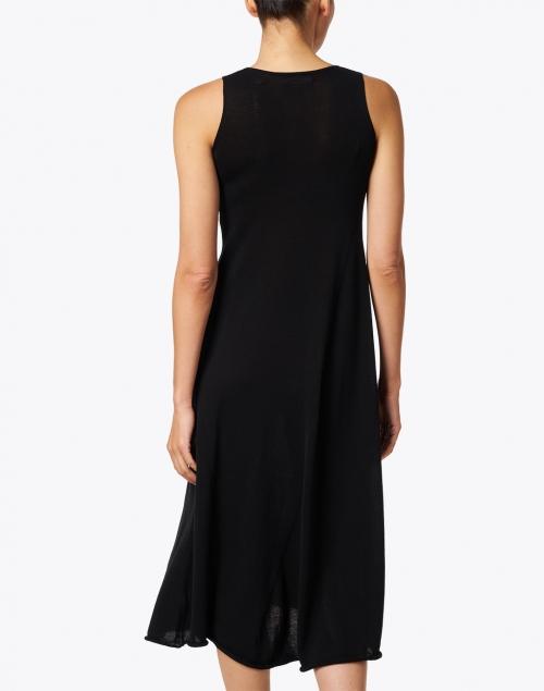 Vince - Black Knit Cotton Dress