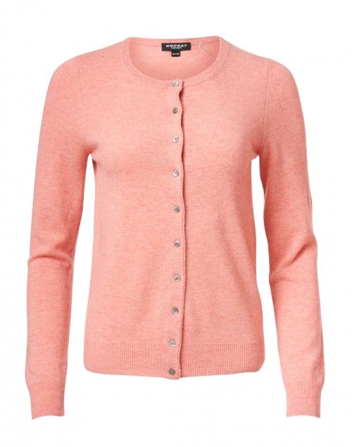 Repeat Cashmere - Watermelon Pink Cashmere Cardigan